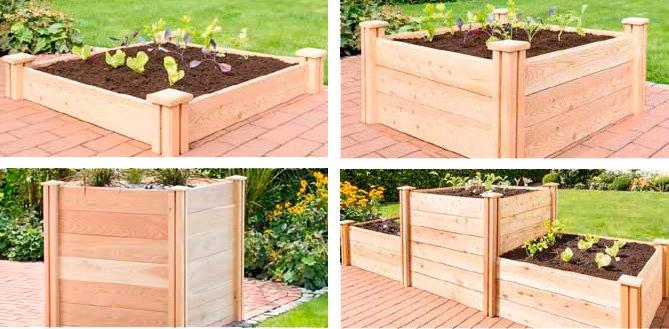 anleitung zum hochbeet aufbau mit bio green. Black Bedroom Furniture Sets. Home Design Ideas